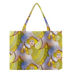 Seamless Repeat Repeating Pattern Medium Tote Bag by Onesevenart
