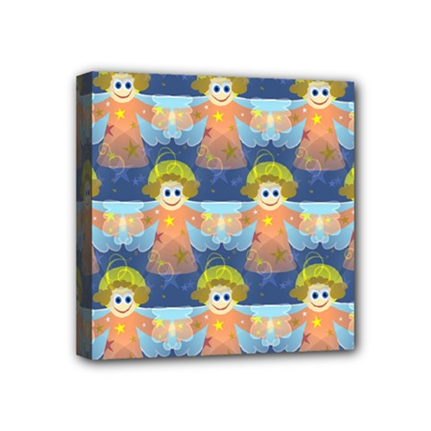Seamless Repeat Repeating Pattern Mini Canvas 4  X 4  by Onesevenart