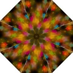 Star Background Texture Pattern Straight Umbrellas by Onesevenart