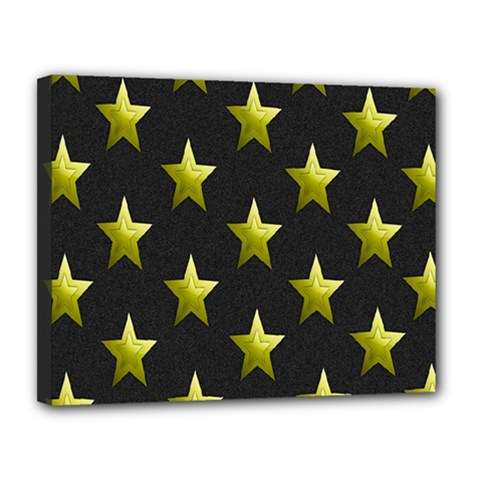 Stars Backgrounds Patterns Shapes Canvas 14  X 11  by Onesevenart