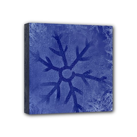 Winter Hardest Frost Cold Mini Canvas 4  X 4  by Onesevenart