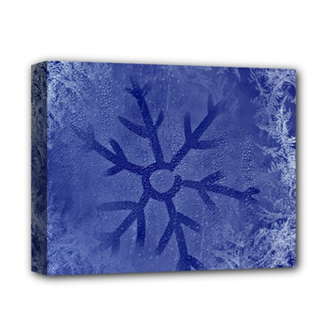Winter Hardest Frost Cold Deluxe Canvas 14  X 11  by Onesevenart