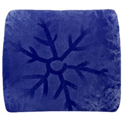 Winter Hardest Frost Cold Back Support Cushion by Onesevenart