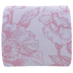Vintage Pink Floral Back Support Cushion by 8fugoso