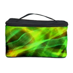 Abstract Shiny Night Lights 1 Cosmetic Storage Case by tarastyle