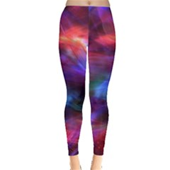 Abstract Shiny Night Lights 7 Leggings  by tarastyle