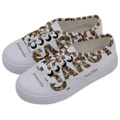 Tarot Fortune Teller Kids  Classic Low Top Sneakers by Valentinaart