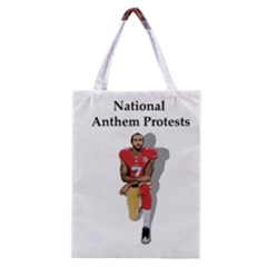 National Anthem Protest Classic Tote Bag by Valentinaart