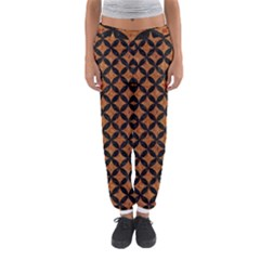 Circles3 Black Marble & Rusted Metal Women s Jogger Sweatpants by trendistuff