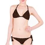 HEXAGON1 BLACK MARBLE & RUSTED METAL (R) Bikini Set