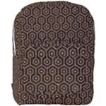 HEXAGON1 BLACK MARBLE & RUSTED METAL (R) Full Print Backpack