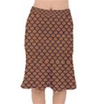 SCALES1 BLACK MARBLE & RUSTED METAL Mermaid Skirt
