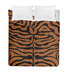 Skin2 Black Marble & Rusted Metal Duvet Cover Double Side (full/ Double Size) by trendistuff