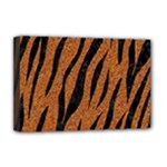 SKIN3 BLACK MARBLE & RUSTED METAL Deluxe Canvas 18  x 12