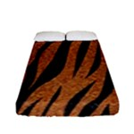 SKIN3 BLACK MARBLE & RUSTED METAL Fitted Sheet (Full/ Double Size)
