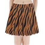 SKIN3 BLACK MARBLE & RUSTED METAL Pleated Mini Skirt