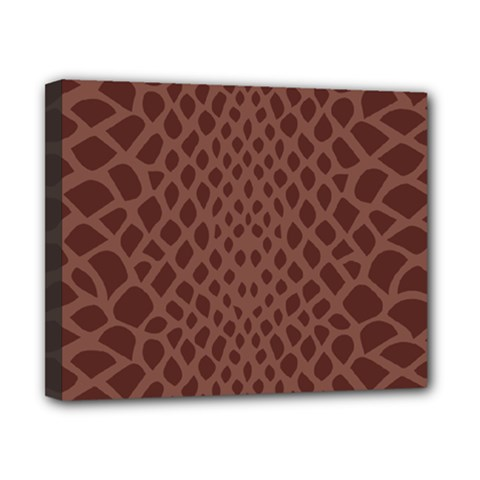 Autumn Animal Print 5 Canvas 10  X 8  by tarastyle
