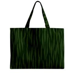 Autumn Animal Print 7 Zipper Mini Tote Bag by tarastyle