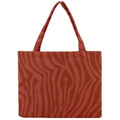 Autumn Animal Print 8 Mini Tote Bag by tarastyle