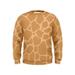 Autumn Animal Print 10 Kids  Sweatshirt