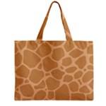 Autumn Animal Print 10 Zipper Mini Tote Bag