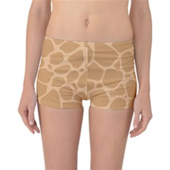 Autumn Animal Print 10 Reversible Boyleg Bikini Bottoms by tarastyle