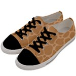 Autumn Animal Print 10 Men s Low Top Canvas Sneakers