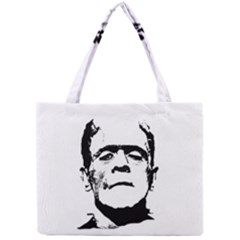 Frankenstein s Monster Halloween Mini Tote Bag by Valentinaart