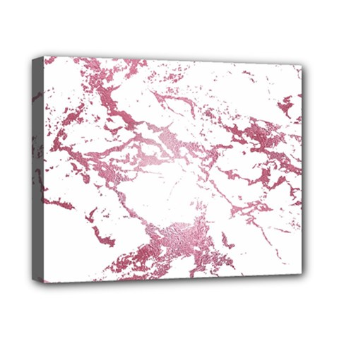 Luxurious Pink Marble 4 Canvas 10  X 8  by tarastyle