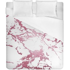 Luxurious Pink Marble 4 Duvet Cover (california King Size) by tarastyle