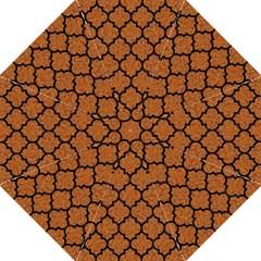 Tile1 Black Marble & Rusted Metal Hook Handle Umbrellas (large) by trendistuff