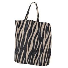 Skin3 Black Marble & Sand (r) Giant Grocery Zipper Tote by trendistuff