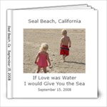 Seal Beach Photo Book - 8x8 Photo Book (20 pages)