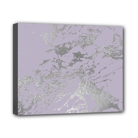 Luxurious Pink Marble Canvas 10  X 8  by tarastyle