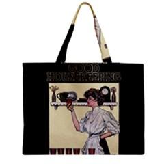 Good Housekeeping Zipper Medium Tote Bag by Valentinaart