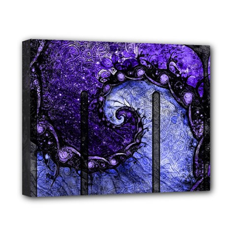 Beautiful Violet Spiral For Nocturne Of Scorpio Canvas 10  X 8  by beautifulfractals