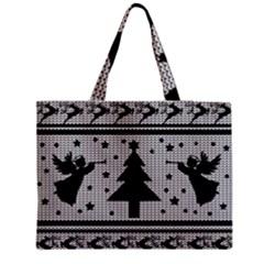 Ugly Christmas Sweater Medium Tote Bag by Valentinaart