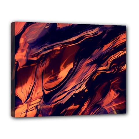 Abstract Acryl Art Canvas 14  X 11  by tarastyle