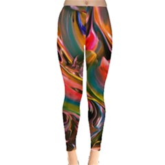 Abstract Acryl Art Leggings  by tarastyle