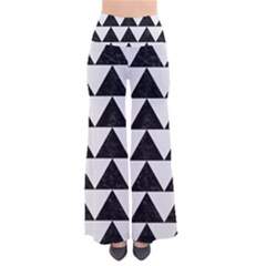 Triangle2 Black Marble & White Linen Pants by trendistuff