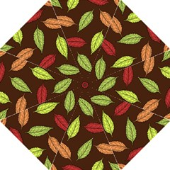 Autumn Leaves Pattern Folding Umbrellas by Mariart