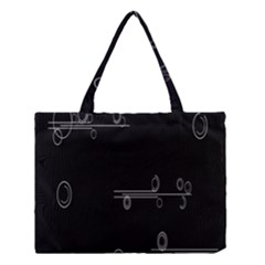 Feedback Loops Motion Graphics Piece Medium Tote Bag by Mariart