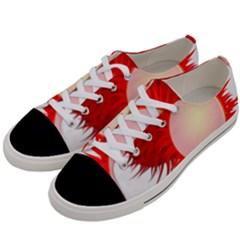 Rambutan Fruit Red Sweet Women s Low Top Canvas Sneakers by Mariart