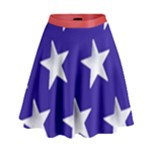 BLUESKIRTANDSTARS - High Waist Skirt