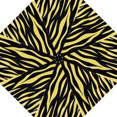 Skin3 Black Marble & Yellow Watercolor (r) Hook Handle Umbrellas (large) by trendistuff