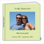 jess - 8x8 Photo Book (20 pages)