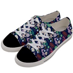 Seahorses Jellyfish Seaworld Sea  Beach Swiim Women s Low Top Canvas Sneakers by Mariart