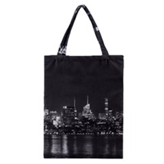 New York Skyline Classic Tote Bag by Celenk