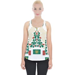 Christmas Tree Present House Star Piece Up Tank Top