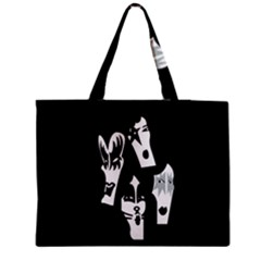 Kiss Band Logo Medium Tote Bag by Celenk